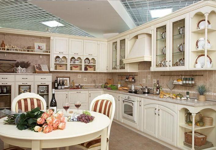 Дизайн кухни итальянском стиле