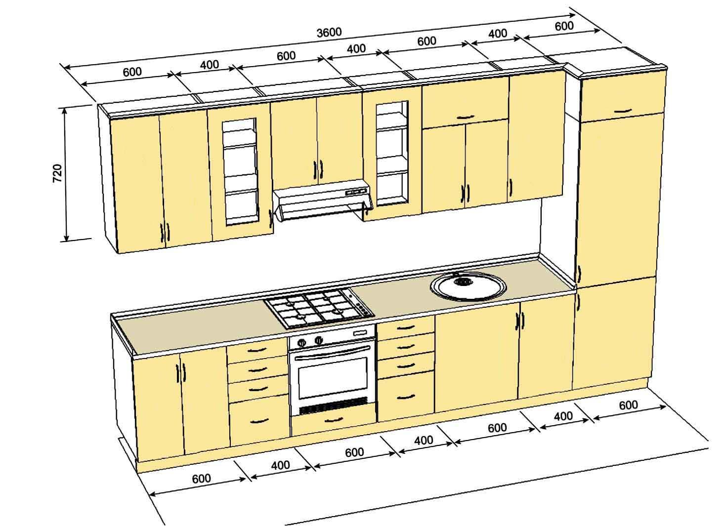 Стол для кухни своими руками чертежи